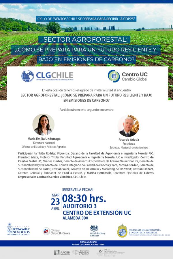 Sector Agroforestal: ¿Cómo se prepara para un futuro resiliente y bajo en emisiones de carbono?